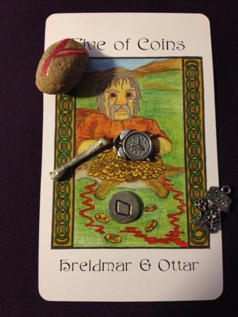 5 Coins Hreidmar & Ottar