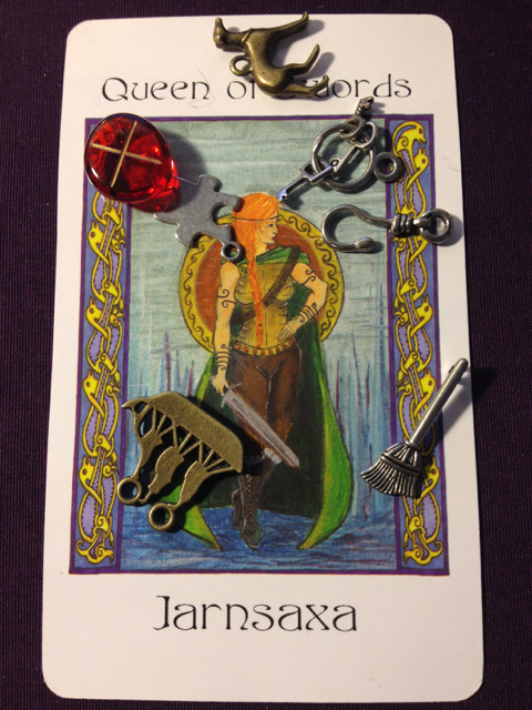 Queen of Swords Jarnsaxa
