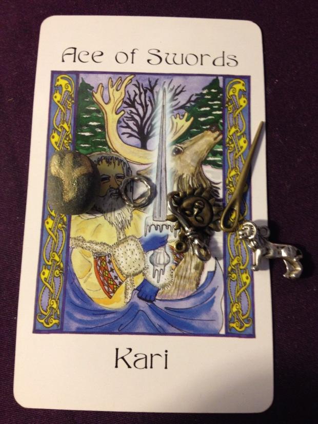 Ace of Swords Kari